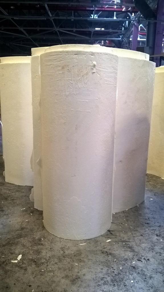 Скорлупа ППУ больших диаметров